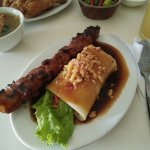 Barbeque and Fresh Lumpia