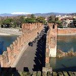 Scaligero-Brücke Foto