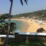 The Leela hotel, Kovalam beach, Kerala.