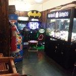 an arcade area
