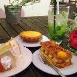 Sweet desserts~~ Especially love the lemon tart !