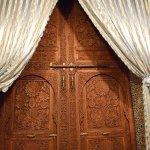 Door from inside the room