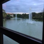 view from Japanese restaurant