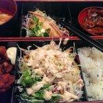 Bento Box W/ Karage Chicken. Very tasty & affordable.