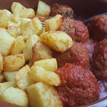 Meat Balls & Potatos