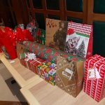 ready for exchanging gifts