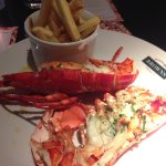 Lobster with garlic / butter sauce