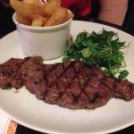8oz steak & chips