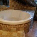 Baño de la H-16 (Suite) complicado ducharse