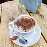 Zesty hot chocolate