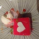 Dessert spécial Saint Valentin