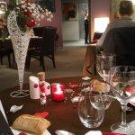 Le dîner de la Saint-Valentin était exceptionnel, les enchaînements de mets ont été choisi avec