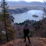 Overlooking Lake Bled
