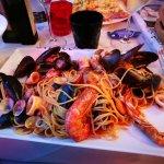 Les pâtes aux fruits de mer