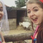 Sefies with Goats