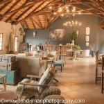 Bayala Private Game Lodge entrance and main lounge with bar