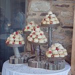 Scone wedding cakes