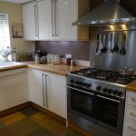 Poppy Cottage No. 1 fully fitted kitchen with dishwasher, range cooker, fridge freezer, open pla