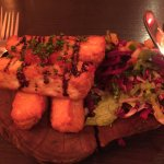 Big appetite needed if you go for the haloumi finger starters . Again lovely