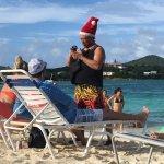 Beach Bar Staff - right before Christmas