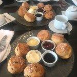 Fantastic afternoon tea at L'Horizon
