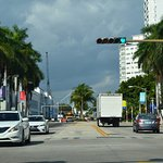 Vista de Washington Avenue, South Beach