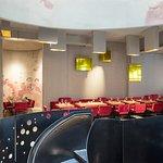 Sitzbereich in unserem Restaurant am Stephansplatz