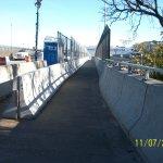Walkway to LaGuardia Airport