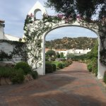 Entrance - next to spa and gym