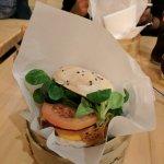 Shiso veggie burger