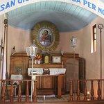 Altar muito simples e bem antigo