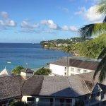 View from Emerald Honeymoon Oceanview ..6th floor