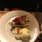 Bannofee pie with ice-cream