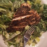 Tidewater's Caesar Salad with Blackened Chicken