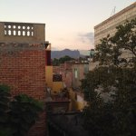 Mountains from rooftop