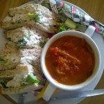 Delicious Homemade Soup & Sandwiches
