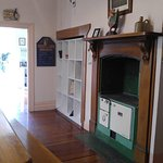 Awesome antique kitchen appliances and guest food cubby's
