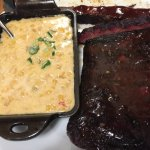 Creamed Corn with Ribs & Brisket
