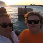 Key West Sunset after visiting Mel Fisher's Treasures