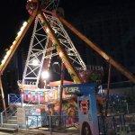 Lunapark am Abend