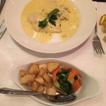 Delicious Chicken with lemon, butter and cream! Superb food!