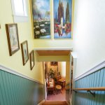 Stairway to the Guest Rooms