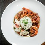 New Orleans classic made with andouille sausage, chicken, shrimp, and Dugeness Crab over rice