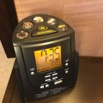 Hilton Alarm Clock