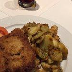Cordon bleue at the restaurant