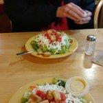 Tasty fresh salad.