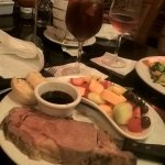 Prime rib Valentines Day dinner special!