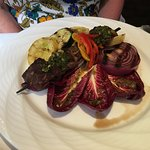 Chimichurri Steak Skewers wtih Grilled Vegetables
