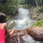 Hot Spring and river (where you tube)