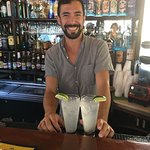 This is Mike!  Besides having a great smile he's an awesome bartender!  I suggest the Ting Ting!